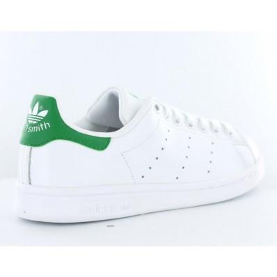 adidas stan smith femme blanche et verte