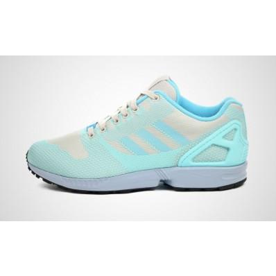 adidas zx flux bleu marine courir