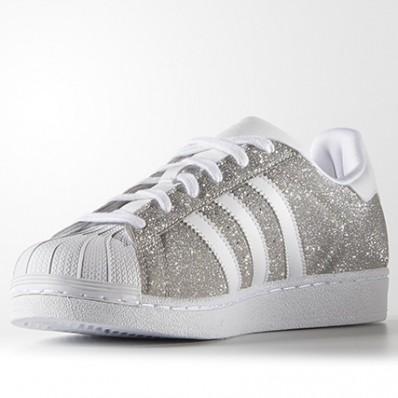 chaussure adidas femme argenté