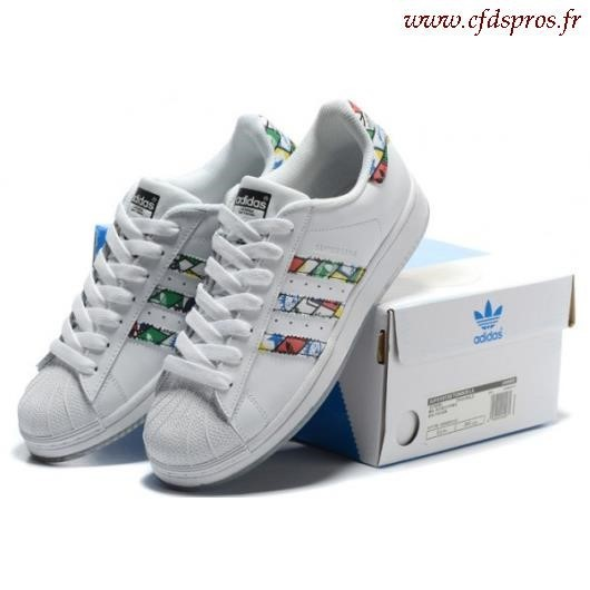 adidas superstar de couleur