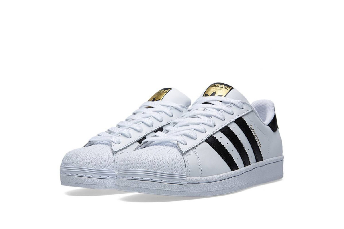 Or Et Superstar Femme Adidas Blanche S0awqH