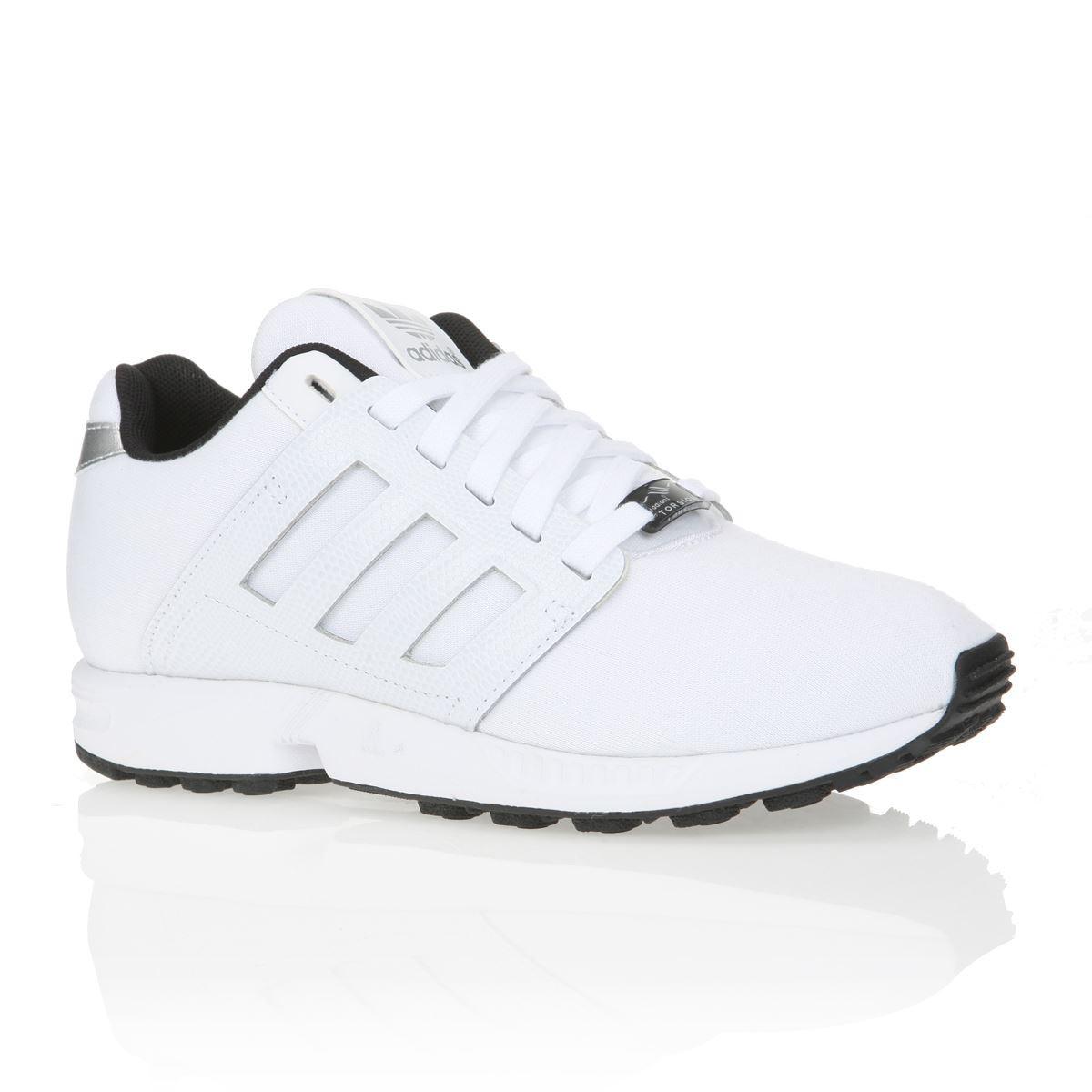 adidas zx flux femmes blanche