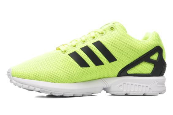 adidas zx flux jaune fluo