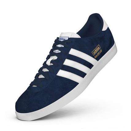 chaussure adidas gazelle bleu