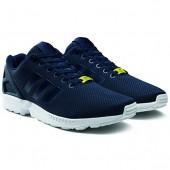 adidas chaussure zx flux bleu