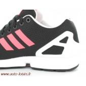 adidas zx flux rose et noir pas cher