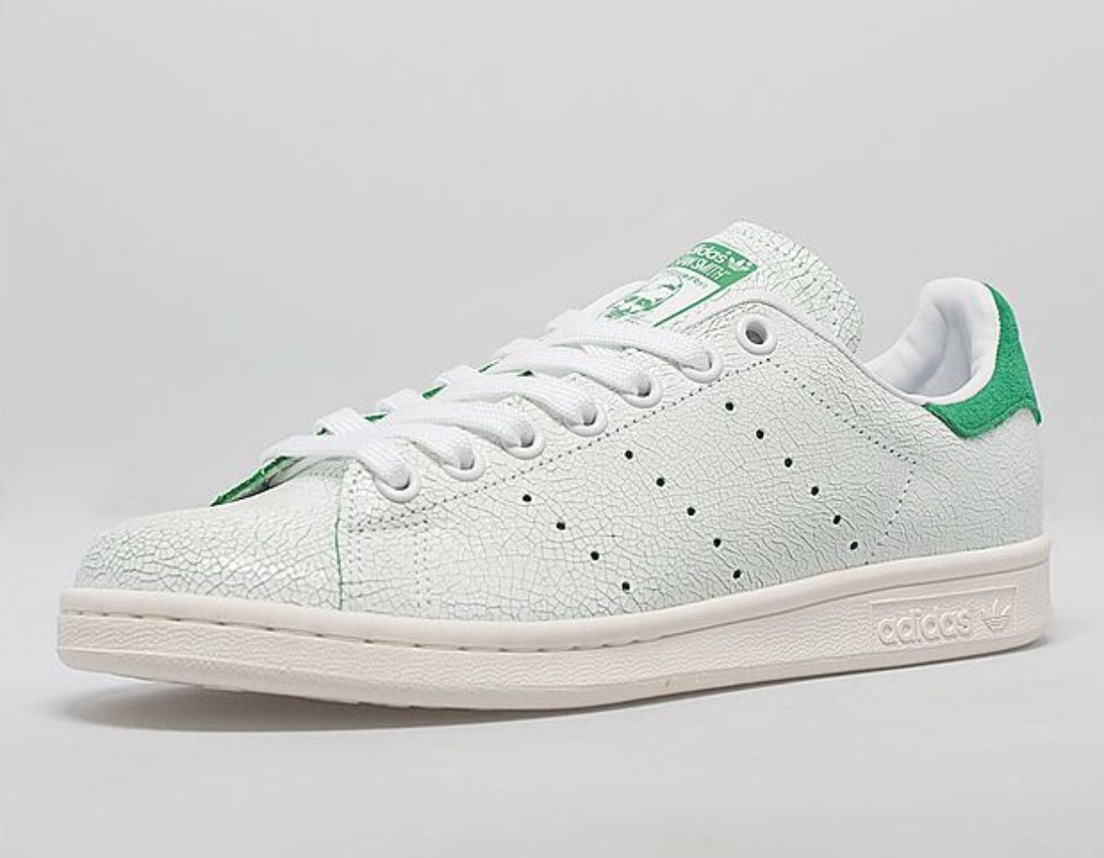 adidas stan smith craquelé bleu