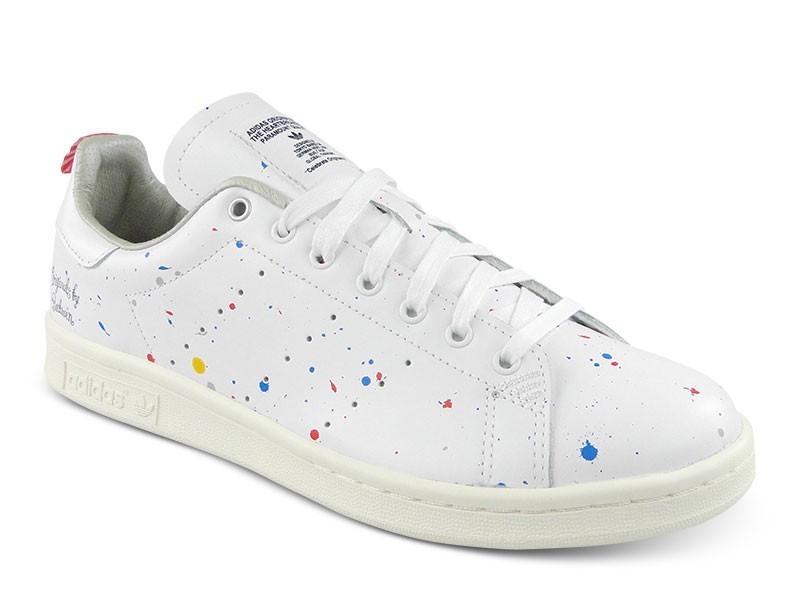 adidas stan smith rose courir